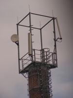 zdjęcie stacji bazowej komin Orange (Orange GSM900) pict0054.jpg