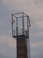 zdjęcie stacji bazowej komin Orange (Orange GSM900) pict0055.jpg