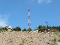 zdjęcie stacji bazowej Maszt Plusa (Plus GSM900) p1020298.jpg
