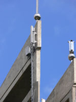 zdjęcie stacji bazowej Zamoyskiego kościół (Era GSM900/GSM1800/UMTS, Orange GSM900/GSM1800, Play UMTS) p1050335.jpg