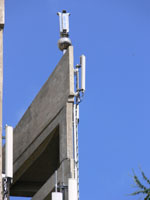 zdjęcie stacji bazowej Zamoyskiego kościół (Era GSM900/GSM1800/UMTS, Orange GSM900/GSM1800, Play UMTS) p1050336.jpg