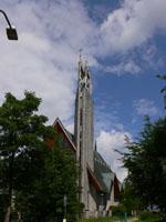 zdjęcie stacji bazowej Zamoyskiego kościół (Era GSM900/GSM1800/UMTS, Orange GSM900/GSM1800, Play UMTS) p1050341.jpg