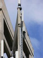 zdjęcie stacji bazowej Zamoyskiego kościół (Era GSM900/GSM1800/UMTS, Orange GSM900/GSM1800, Play UMTS) p1050342.jpg