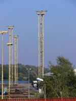 zdjęcie stacji bazowej Basen Górniczy /port wieże oświetleniowe/ (Orange GSM1800, Play UMTS) p1030579.jpg