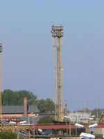 zdjęcie stacji bazowej Basen Górniczy /port wieże oświetleniowe/ (Orange GSM1800, Play UMTS)  p1030581.jpg