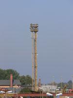 zdjęcie stacji bazowej Basen Górniczy /port wieże oświetleniowe/ (Orange GSM1800, Play UMTS) p1030582.jpg