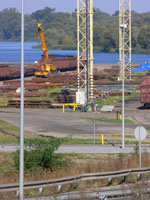 zdjęcie stacji bazowej Basen Górniczy /port wieże oświetleniowe/ (Orange GSM1800, Play UMTS) p1030583.jpg