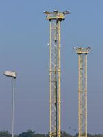zdjęcie stacji bazowej Basen Górniczy /port wieże oświetleniowe/ (Orange GSM1800, Play UMTS) p1030585.jpg
