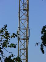 zdjęcie stacji bazowej Basen Górniczy /port wieże oświetleniowe/ (Orange GSM1800, Play UMTS) p1030586.jpg